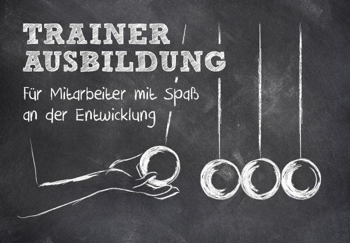 Trainerausbildung mit modularem Aufbau