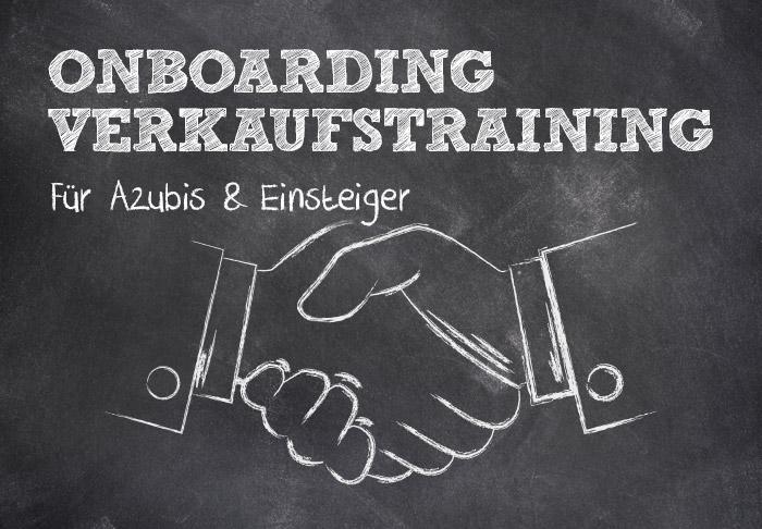 Onboarding Verkaufstraining