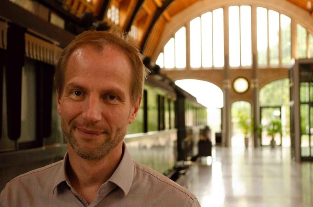 Markus Wolfgram in der Gleishalle