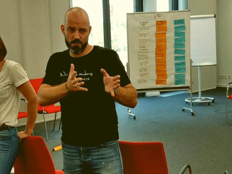 Alexander Schwarz erklärt Feedback